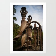 Sir Edward James Castle Art Print