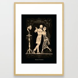 Romance D Automne Framed Art Print