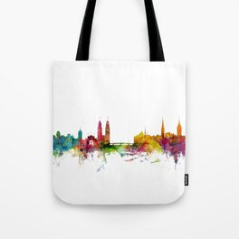 Zurich Switzerland Skyline Tote Bag
