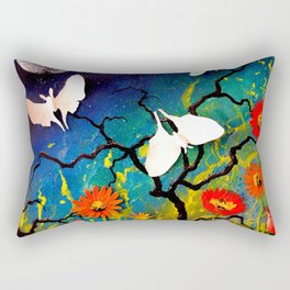 Luna Moths Rectangular Pillow