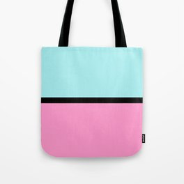 Pastels blue and pink Tote Bag