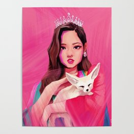 BLACKPINK Jennie Poster