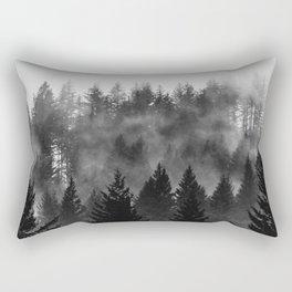 Charcoal Forest Fog - 26/365 Rectangular Pillow