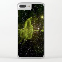 The Spider Nebula Clear iPhone Case