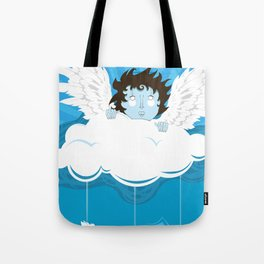 huh? what?! can't hear you ... too windy up here! Tote Bag
