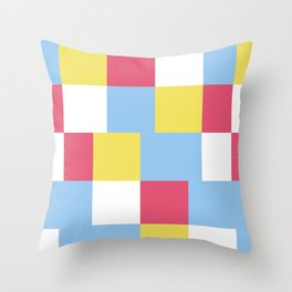 CHAT B Throw Pillow