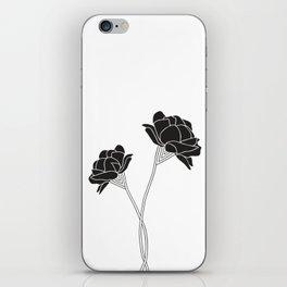 Flower Stems iPhone Skin