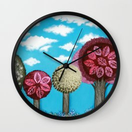 Spring grove Wall Clock