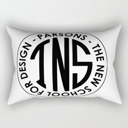 Parsons The New School for Design Student Apparel Rectangular Pillow