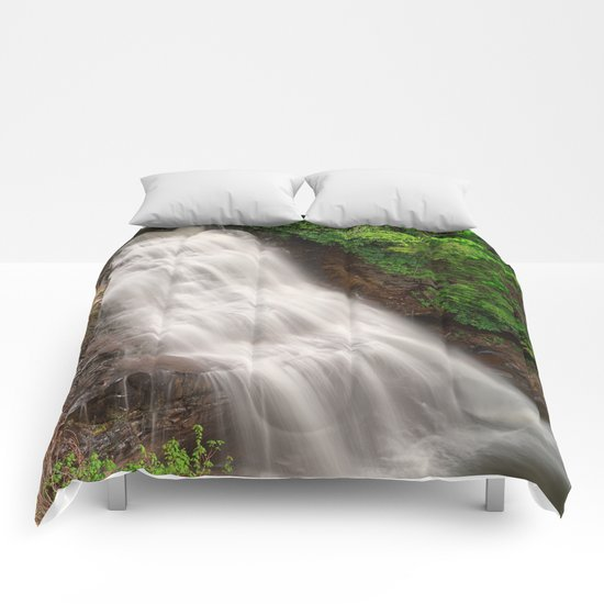 Muddy Creek Falls Comforters