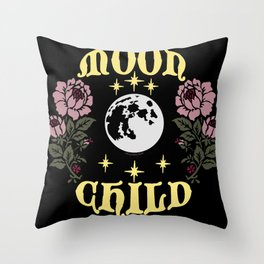 Moon Child Original By Moon Goddess Market Throw Pillow