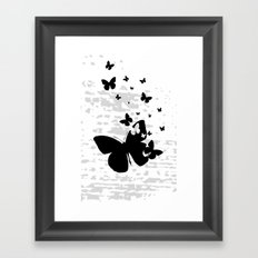 Nothing But To Fly Framed Art Print