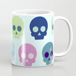 Colorful Skull Cute Pattern Coffee Mug