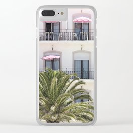 Life in Pink Clear iPhone Case