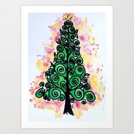 Christmas Gift Art Print