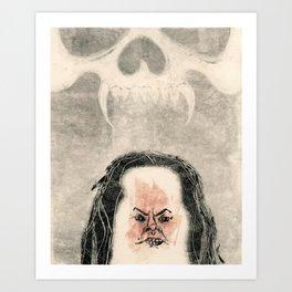 Monozig Art Print