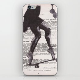 Crazy dance iPhone Skin