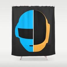 Daft Punk Shower Curtain