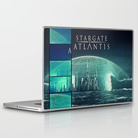stargate Laptop & iPad Skins featuring Through the storm by Samy