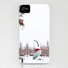 snow spoon & cherry Slim Case iPhone (4, 4s)