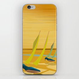 May Down Stream in Slow Motion - shoes stories iPhone Skin