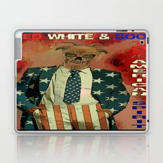RED WHITE AND BOO - 003 Laptop & iPad Skin