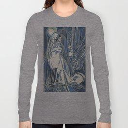 Fox By Moonlight Long Sleeve T-shirt