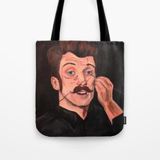 You Missed A Spot Tote Bag