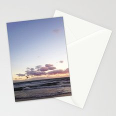 Sunset and Seagull Stationery Cards