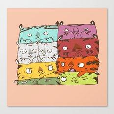 Tiger Kuubs Canvas Print