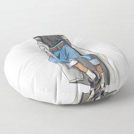 Tall girl Floor Pillow