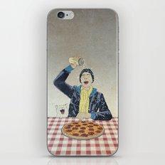 Make it snow... on my PIZZA! iPhone & iPod Skin
