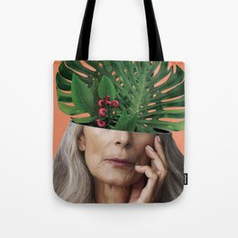 Aging on the outside, more life inside. Tote Bag