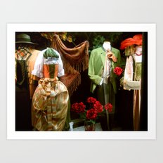 Traditional Austrian Garments Art Print