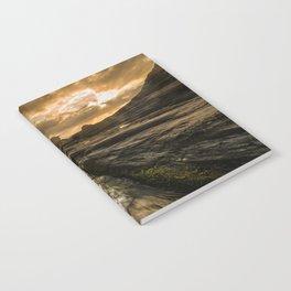 Trebarwith strand sunset Notebook
