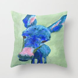 Wonkey Donkey Throw Pillow