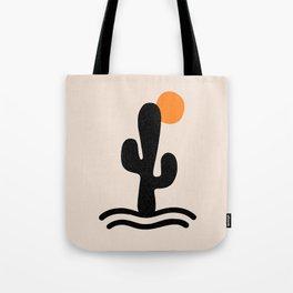 cactus sunrise Tote Bag