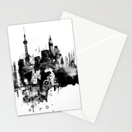 When it rains Stationery Cards