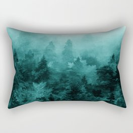 Fractal Forest Rectangular Pillow
