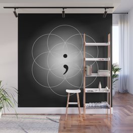 The Seed of - Life goes on Wall Mural