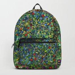 The Apple Tree Gustav Klimt Backpack