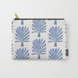 Palm Tree – Navy Palette Carry-All Pouch