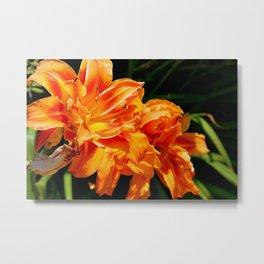 Grandmom's Flowers Metal Print