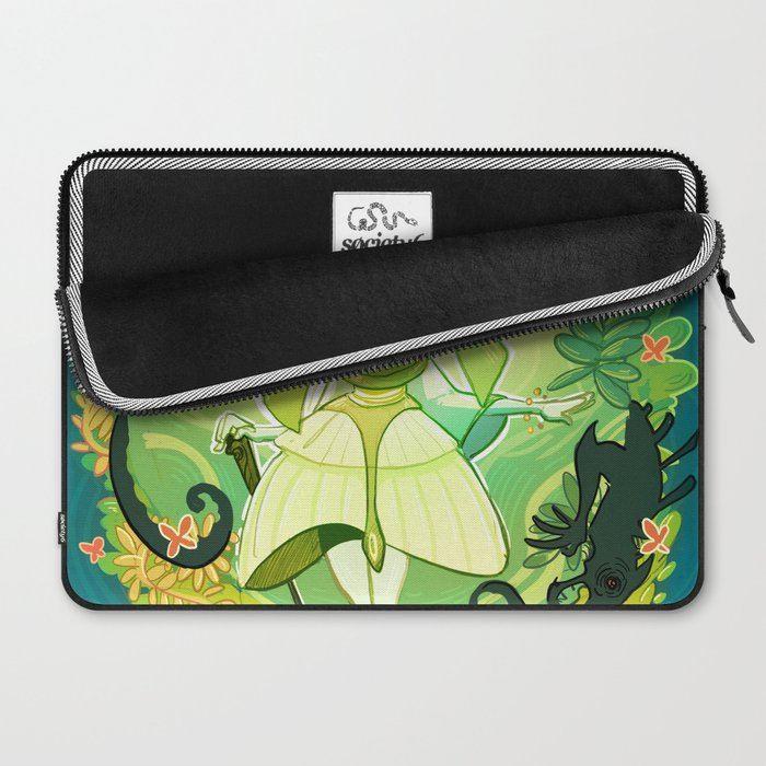 A World of Green Laptop Sleeve
