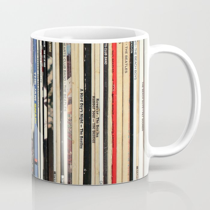 Classic Rock Vinyl Records Kaffeebecher