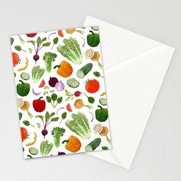 BG - Mixed salad Stationery Cards