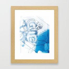Guten Tag Framed Art Print