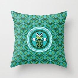 8bit Deco Throw Pillow
