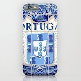 Portugal, art tile iPhone Case