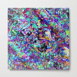 color chaos bywhacky Metal Print